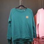 Sweatshirt Frauen - Dunkelgrün